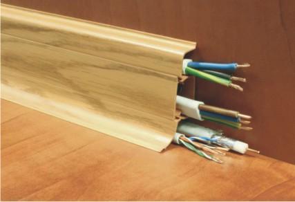 Plinte pentru cabluri din PVC